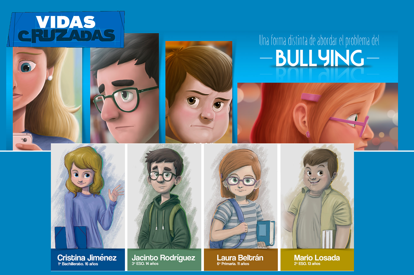 Análisis Vidas Cruzadas Cómic Interactivo Bullying
