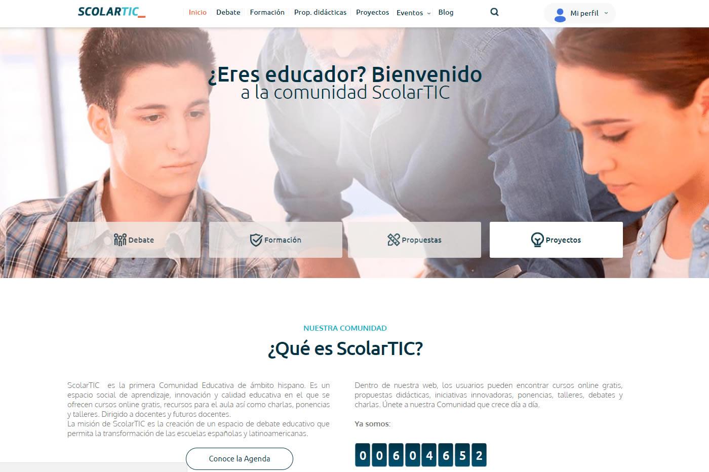 Análisis ScolarTIC, comunidad educativa de Telefónica