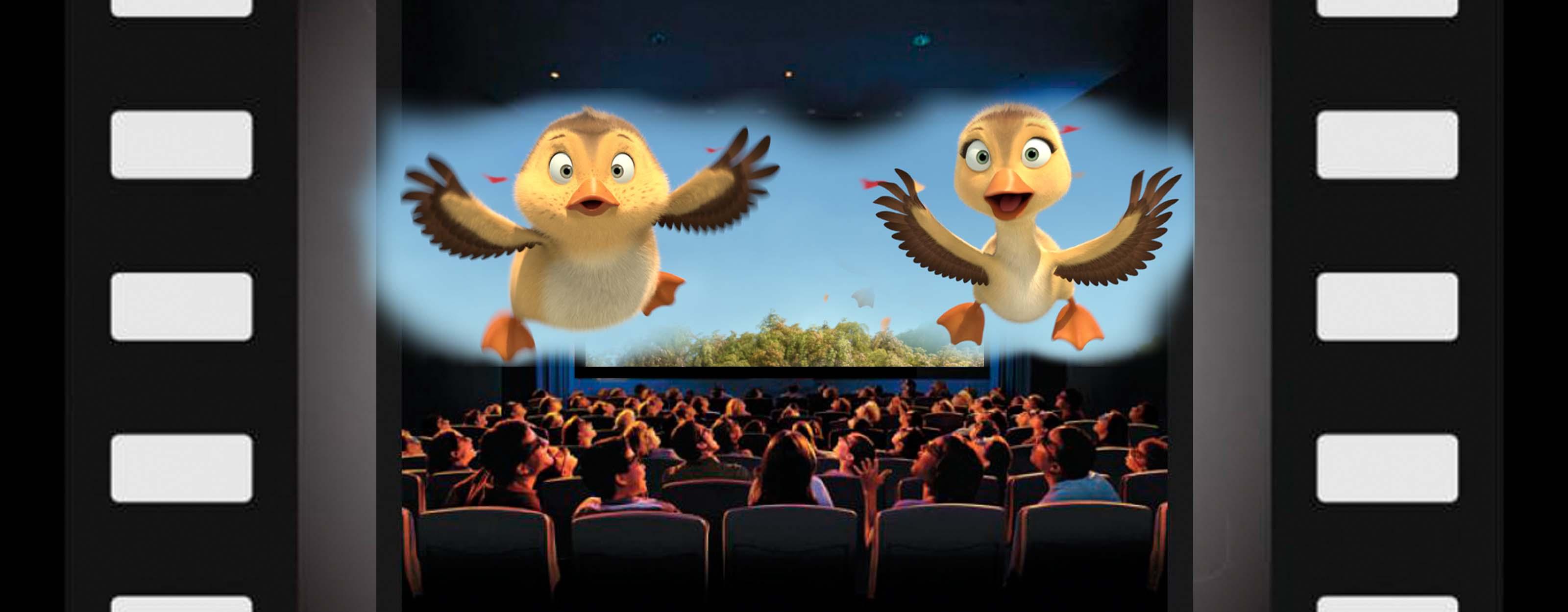 Al aire patos cine familiar gratis