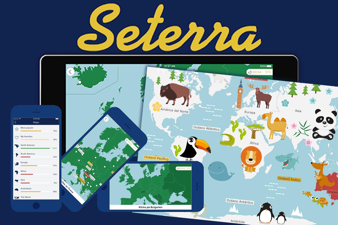 Seterra (aprende geografía) - Una guia para el espectador crítico