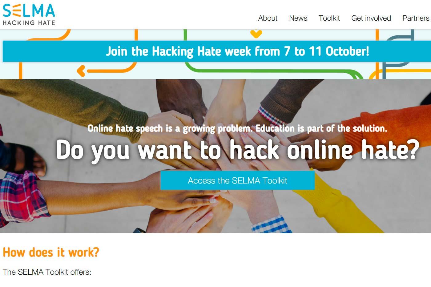SELMA, proyecto europeo para combatir el odio en la red (en inglés)